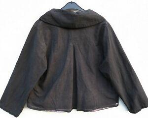 NEU D'celli kastige Jacke Jacket Veste 10% Leinen Linen XL 48 50 Lagenlook