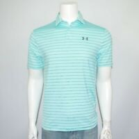 NWT UNDER ARMOUR Playoff 2.0 Stretch Performance Striped Golf Polo Shirt Sz S