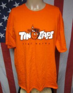 FORT WAYNE TINCAPS T shirt minor league baseball Indiana XL tee Padres mascot