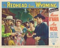 Redhead from Wyoming  Movie Lobby Card reprint photo 2 sizes to pick from