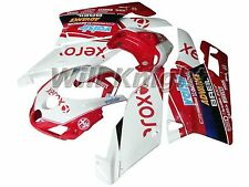 Motorcycle Body Fairing Kit for Ducati 749 999 2005 2006 Red Xerox Edition