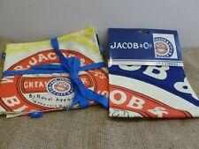 SET OF 4 VINTAGE STYLE RETRO JACOBS CRACKERS 100% COTTON NAPKINS. HOUSEWARMING