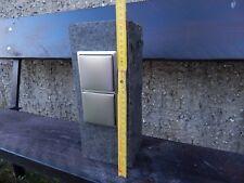 Gartensteckdose Basalt Stele Steckdosensäule zB für Lichterkette oder Rasenmäher