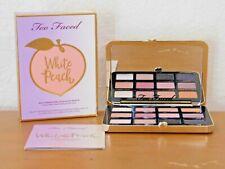 Too Faced White Peach Eye shadow Palette AUTHENTIC!!! NIB US SELLER