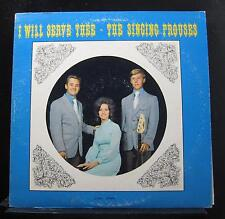The Singing Prouses - I Will Serve Thee LP VG- CS-7621 Private 1971 Vinyl Record
