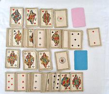 Mini Jeux 54 Cartes Patience - B.P. Grimaud. Cachet Deutsches Reich N° 104