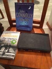 Bulk Bundle of John Grisham & John Connolly Books x 3