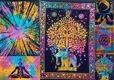 Multi 10 Each 60pc Wholesale Lots Wall Hanging Tapestry Poster Bulk Hippie 40*30