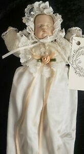 Handmade porcelain baby doll My Secret Garden at Terhune Orchards RARE