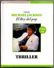 Michael Jackson Thriller CD & Book: El Rey Del Pop Limited Edition Collectors