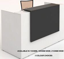 Sorrento Reception Counter Reception Desk Salon Office Desk Furniture