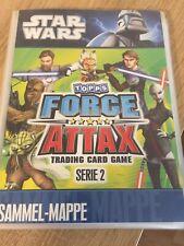 STAR WARS Force Attax Serie 2 Sammelmappe Komplett 240 Karten Inkl.LE1,LE2,LE4,