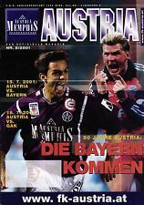 15.07.2001 Austria Memphis Wien - FC Bayern München, 90 Jahre Austria