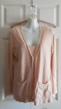TALBOTS TWIN SET CARDIGAN SWEATER PETITES M