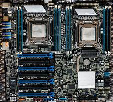 Asus Z9PE-D8 WS Workstation Motherboard Intel Xeon E5-2680v2 128GB RAM EEB