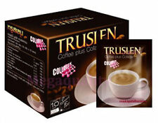 Truslen Plus Collagen Sugar Free Instant Coffee Diet Slimming 10 Sachets