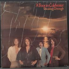 A FOOT IN COLDWATER - BREAKING THROUGH ORIG OZ PRESS 1977 GREAT CONDITION RARE