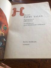 Hauffs Fairy Tales 1961 Wilheim Book Hamlyn London