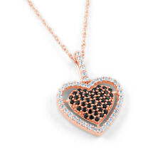 Rose Gold SI1 Fine Diamond Necklaces & Pendants
