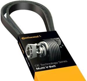 "Continental OE Technology Series 4040347 4-Rib, 34.7"" Multi-V Belt, Black"