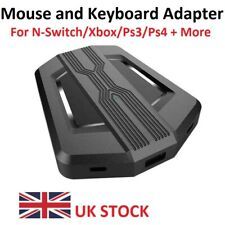 Keyboard and Mouse Adapter for N-Switch/Xbox/PS4/PS3 Game Receiver Converter UK