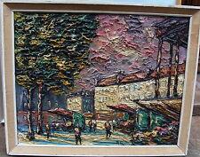 Preben Rasmussen*1919, Blumenmarkt bei St Madeleine, Paris, um 1950