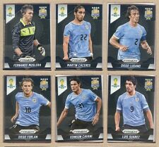 Uruguay 2014 Panini Prizm World Cup Team Set - Cards: 6