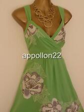 Monsoon ario Con Apliques Vestido De Verano Talla 14 wedding/hols