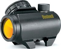 Bushnell Trophy TRS25 Red Dot Sight Riflescope, 1 x 25mm, Black