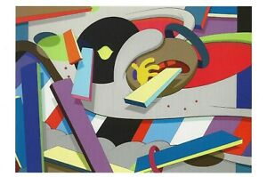 "Postcard KAWS ""Where the End Starts"" 2011 MINT Oversize"