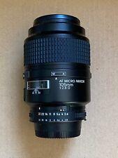 Nikon 105mm Micro Nikkor f/2.8 AF-D lens