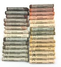Soft Artists Pastels Rembrandt Lot of 29 Browns, Sienna, Umber, Burnt, Raw
