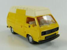 VW Bus T3 Transporter Post mit Hochdach gelb Wiking 1:87 H0 ohne OVP [BD1-B2]