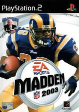 Madden NFL 2003 PS2 (Playstation 2) - Free Postage - UK Seller
