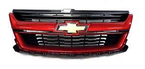 23321739 Front Grille Red Rock Metallic 2015-2020 Chevrolet Colorado
