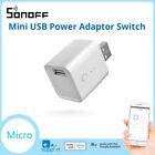 SONOFF Micro Smart USB Switch 5V USB Smart Adaptor Wireless App Control eWelink