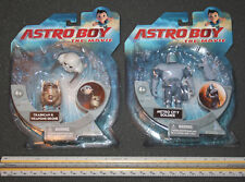 2 Sets Astro Boy The Movie MOC Action Figures Metro City Soldier Trashcan Drone