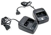 Lot of 2 Radio Walkie-Talkie Desktop Battery Charger Base for Baofeng BF-888S