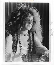Groovy Hippie Singer Janis Joplin Photograph Promoting 1974 Documentary Film