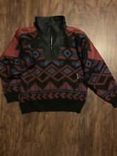 SPYDER CANADA VINTAGE INSULATED WINDSTOPPER SWEATER PULLOVER SIZE Medium Mens