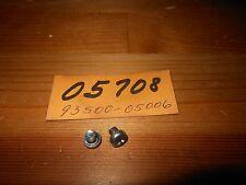 NOS OEM Honda Z50 CH150 CB550 Screw Pan 5 X 6 Qty.2 # 93500-05006