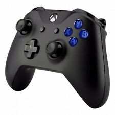 Xbox One Controller Translucent Dark Blue Replacement A B X Y Button Set Mod Kit