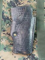 Old Vintage Tex Shoemaker Son Black Holster for Colt .45 ACP Officers Model