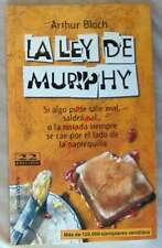 LA LEY DE MURPHY - ARTHUR BLOCH - ED. TEMAS DE HOY 1999 - VER INDICE