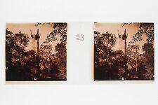 PARIS 1931 Exposition coloniale internationale Plaque de verre Stereo Positif
