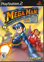 Mega Man: Anniversary Collection Sony Play Station 2 2004 PS2 Complete Tested
