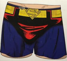 Superman Knit Boxer L Brand New with Tags Shorts Sleep Underwear DC Comic Book