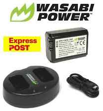 NP-FW50 Wasabi battery x 1 and Charger for SONY Alpha A7 A7II NEX-3 NEX-3N NEX-5