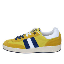 scarpe uomo D' ACQUASPARTA 41 EU sneakers giallo camoscio tessuto AB905-D