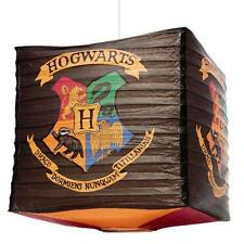 Harry Potter - Hogwarts Collapsible Paper Lampshade - New & Official Warner Bros